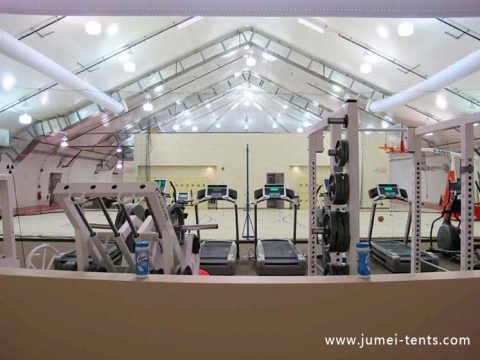 Clear span indoor GYM tent