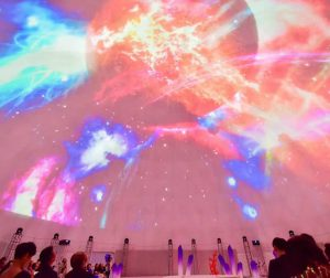 360-degree Projection Dome