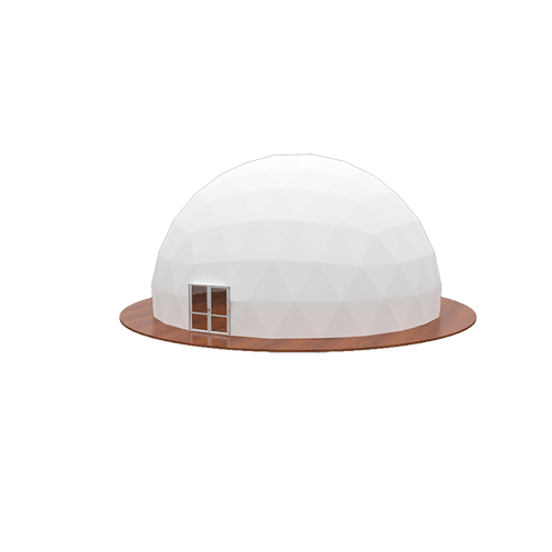 Completely Opaque Cover Event Dome Tent