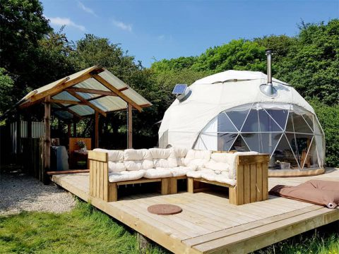 Luxury Glamping Dome Tent