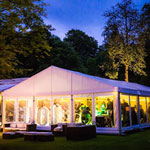Clear Span Party Tent