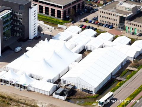 Mixed Tent for Trade Show
