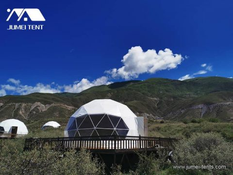Stargaze Glamping Dome Tent