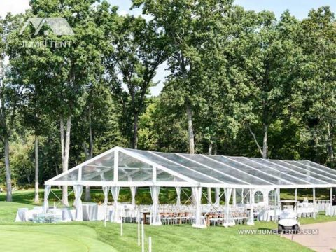 Luxury Clear Top Wedding Tent