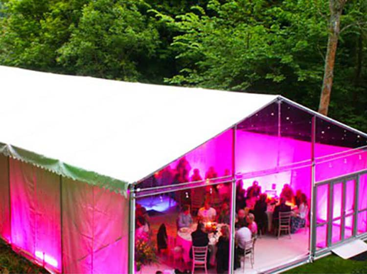 A-Shape Clearspan Party Tent