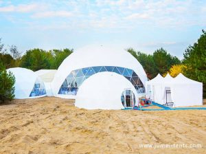 Glamping Dome at Beach