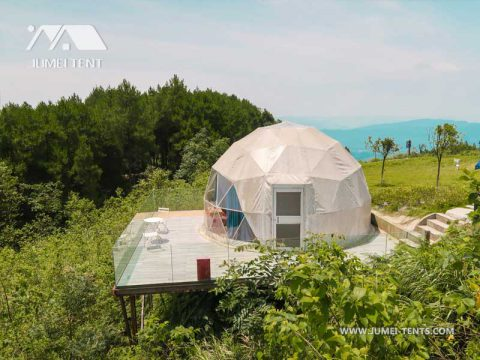 Glamping Dome Tent on the Mountain