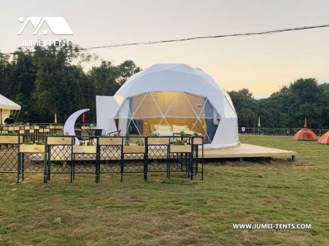 Glamping Dome in the RV Park & Compsite