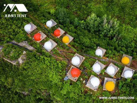 Stargazing Glamping Dome in the Valley