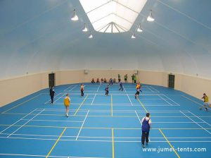 Tent for Indoor Soccer Training Field