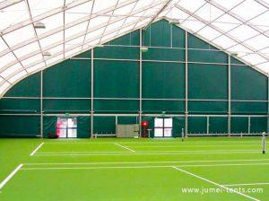 TFS Curve Tent for Indoor Tennis Court