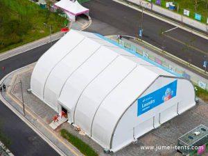 TFS Curve Exhibition Tent