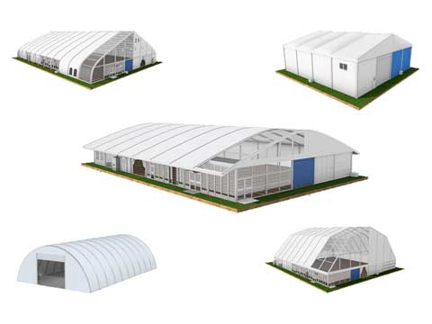 5 Types of Warehouse Tent