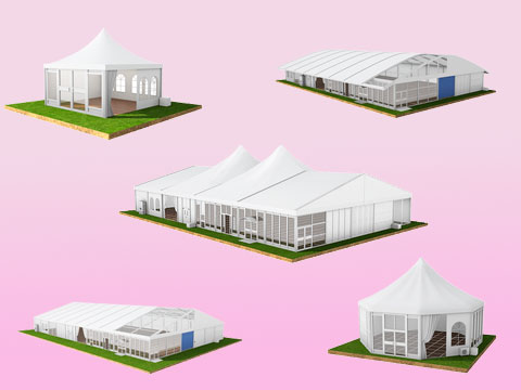 5 Types of Clear Span Wedding Tents