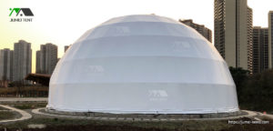 18M Event Dome Tent in the Park