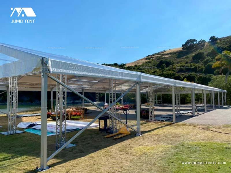 Large Clear Arcum Event Tent