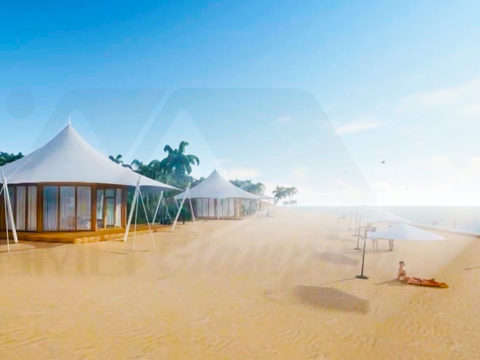 Luxury Glamping Tent on the Island